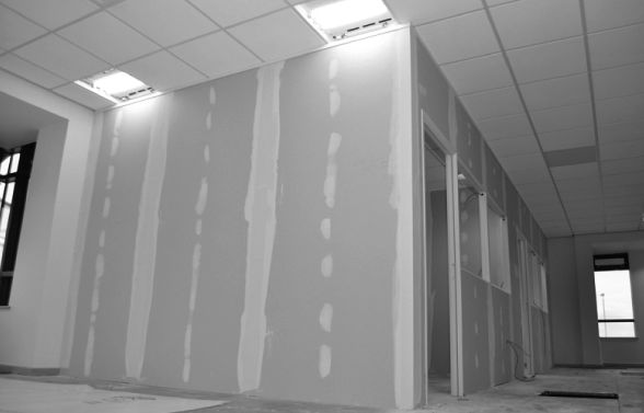 recent project for dry lining in birmingham